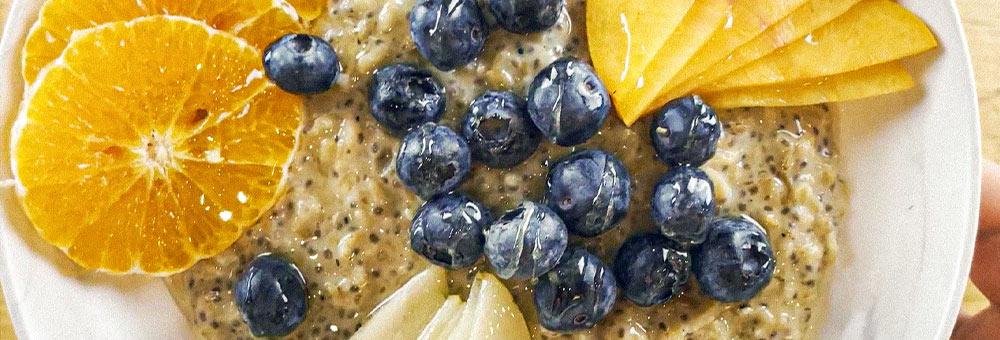 Esmorza saludable amb un porridge de civada